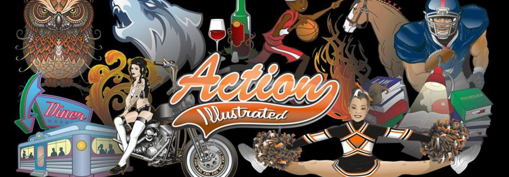 action art teaser logo