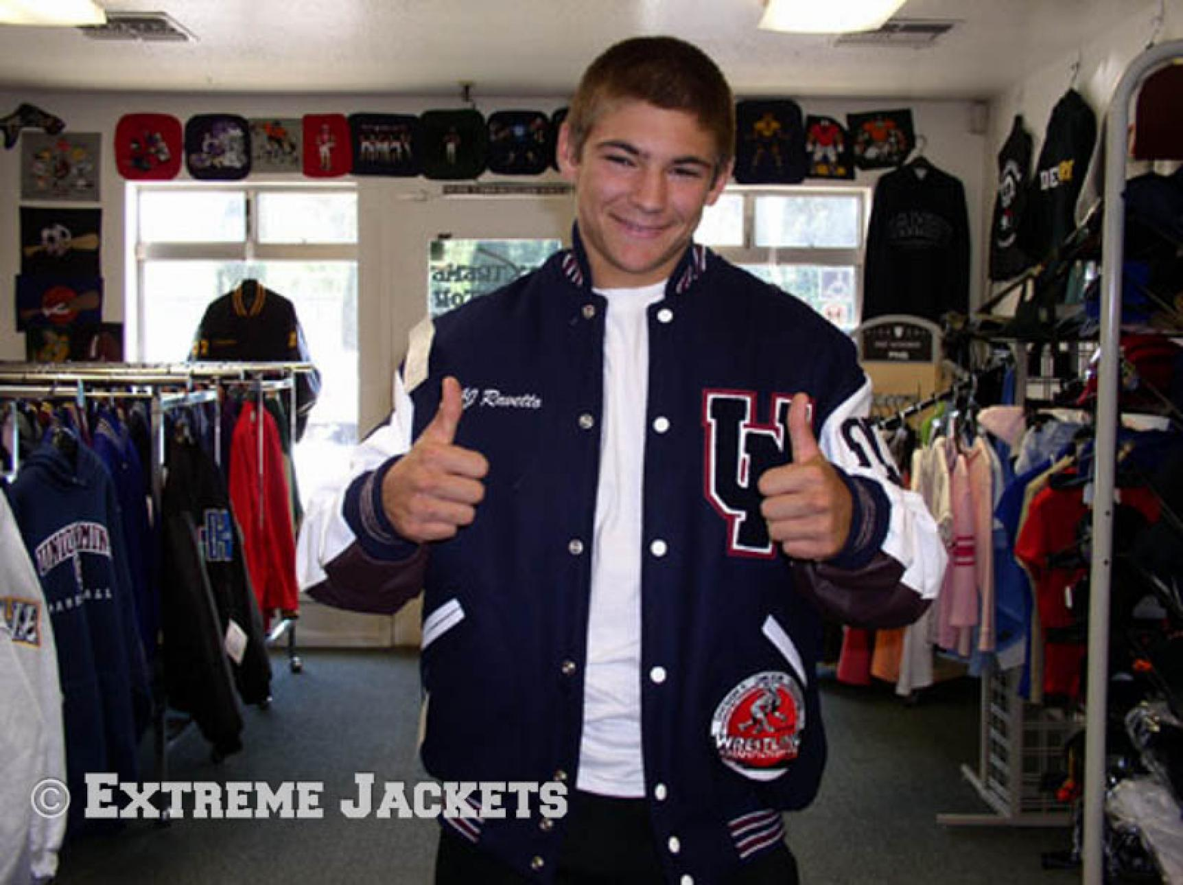 Navy and Maroon | Extreme Jackets